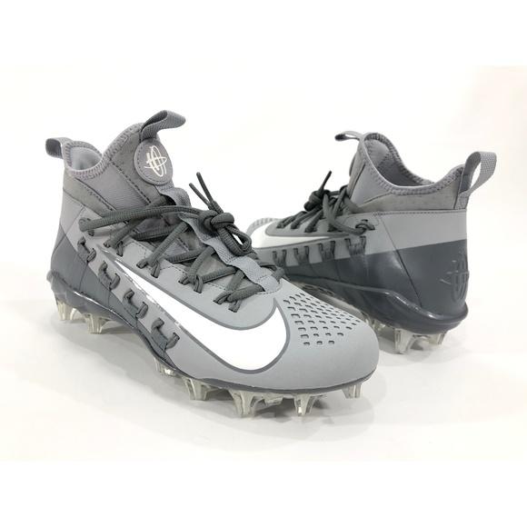 4ac0b5ef0fe8d Nike Shoes | Huarache 6 Elite Lacrosse Lax Cleats Grey | Poshmark